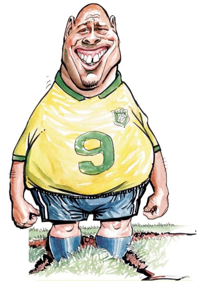 Charge de Ademir Paixão publicada durante a Copa do Mundo de 2006 |