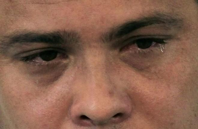 Ronaldo chora na despedida... | Nacho Doce/Gazeta