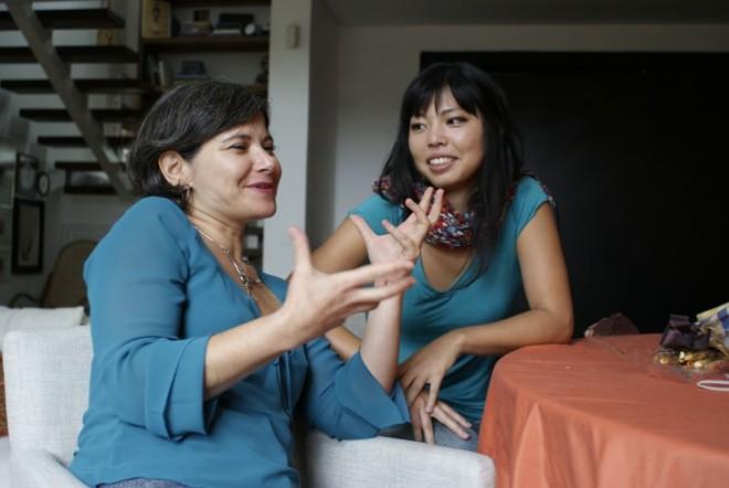 As pianistas Grace Torres e Lilian Nakahodo compartilham interesse por compositores contemporâneos | Marco André Lima / Gazeta do Povo