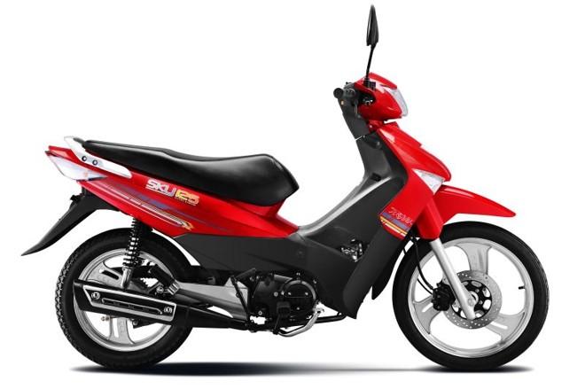 Recém-lançada, a CUB Sky 125 tem preço sugerido pelo fabricante de R$ 4.399 | Divulgação/Traxx