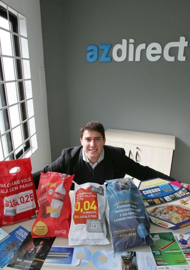 Wagner Rover, da AzDirect: publicidade para dentro das casas | Antônio More/ Gazeta do Povo