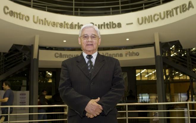 Mauro Serafim começou seu relacionamento com a instituição na década de 50 | Antônio Costa/Gazeta do Povo