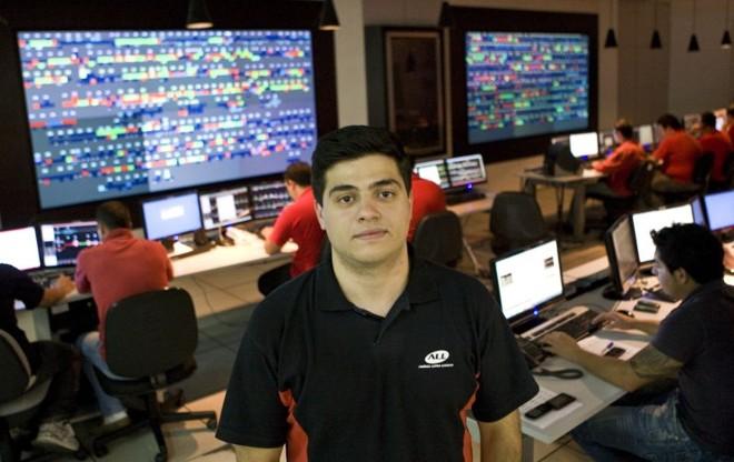 O engenheiro Vinícius Ayello foi aprovado no ano passado como trainee da América Latina Logística (ALL) | Antônio Costa / Gazeta do Povo