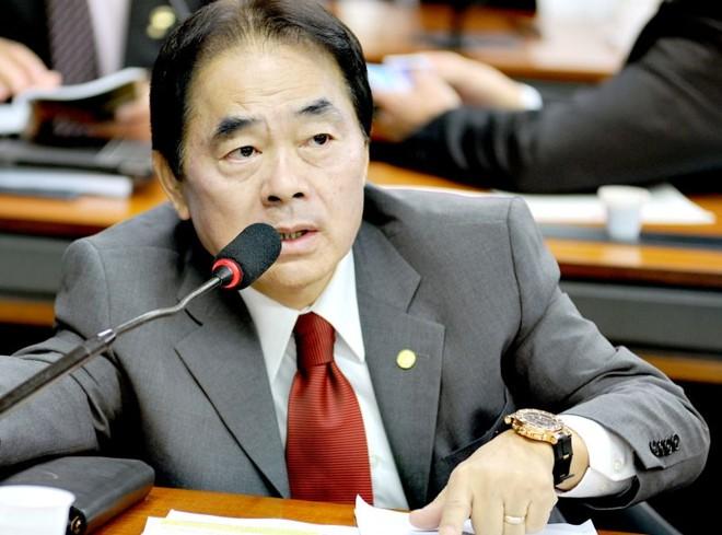 Hidekazu Takayama: defesa de deputado federal paranaense alega que assessores não precisam atuar apenas na atividade parlamentar   Beto Oliveira/Ag. Câmara