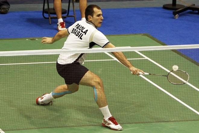 Daniel Paiola conquistou medalha de bronze no badminton   Gaspar Nobrega/Inovafoto/COB
