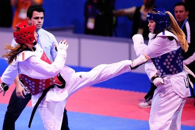 Natália Falavigna perdeu logo na estreia no Pan-Americano | Divulgação/Vipcomm