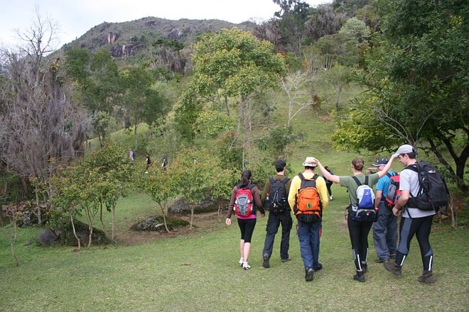 Caminho para o Pico do Paraná, ponto mais alto da Região Sul: local atrai montanhistas de todo o Brasil | Harvey F. Schlenker/IAP