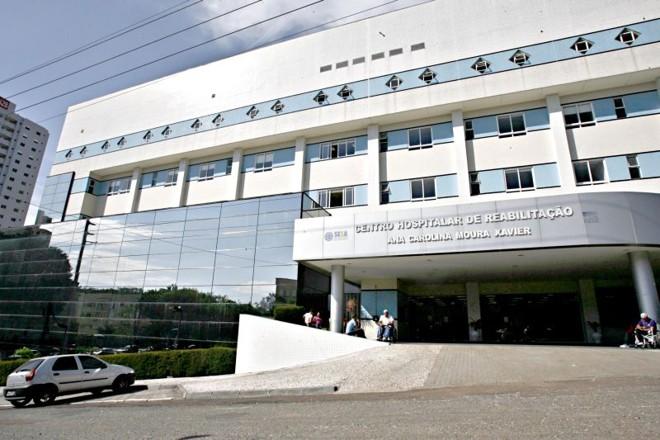 Hospital de Reabilitação do Cabral, em Curitiba, um dos oito construídos ou reformados no governo passado que poderão ter sua gestão terceirizada a ONGs | Priscila Forone/ Gazeta do Povo