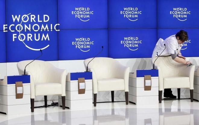 Na Suíça, quase tudo pronto para discussões sobre o rumo da economia mundial | Arnd Wiegmann/Reuters