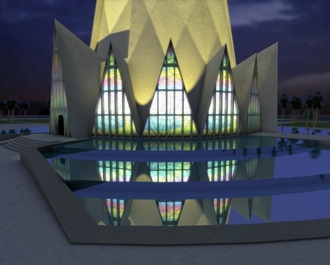 Imagem do projeto da Catedral de Maringá | Divulgação