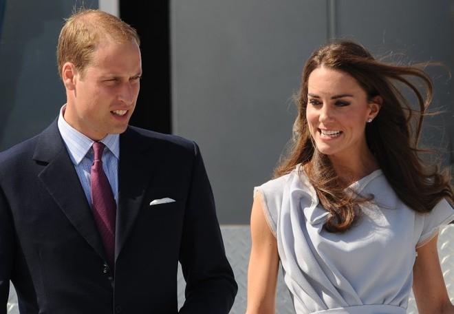 O príncipe William e sua esposa, Kate Middleton | AFP