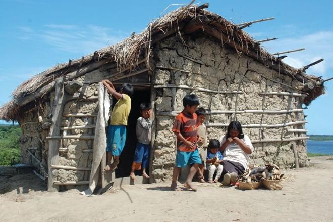 Tribo dos guarani mbyá, na Ilha da Cotinga | Sandra Terena/ Gazeta do Povo
