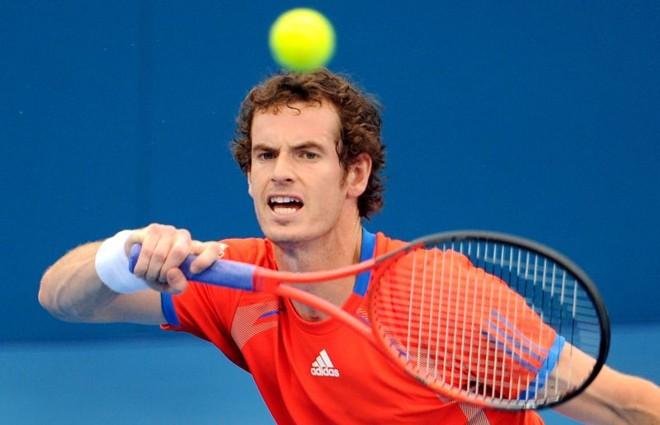 Andy Murray venceu Marcos Baghdatis e está na semifinal em Brisbane | AFP
