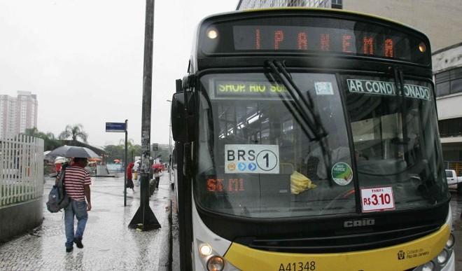 Aumento nas passagens do ônibus no Rio influenciou o IPCA-15; em Belo Horizonte, transporte coletivo também subiu | Uanderson Fernandes/Agência O Dia