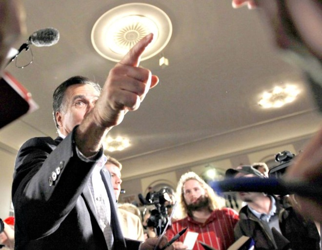 Romney já está em New Hampshire | Brian Snyder/Reuters
