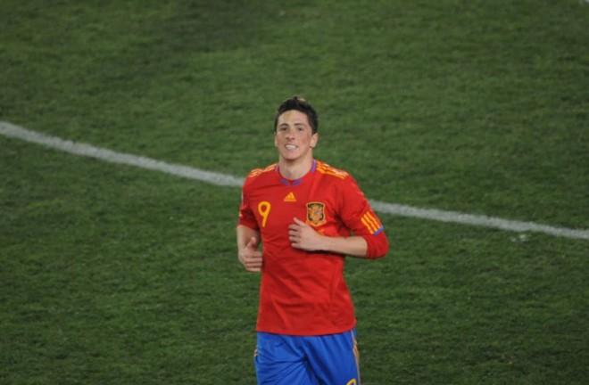 Fernando Torres não foi convocado para amistoso da Espanha contra Venezuela   AFP