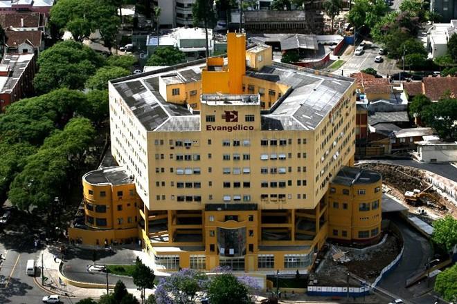 Evangélico: ONG mantenedora do hospital assinou contrato com a União para treinar agentes de turismo. Convênio é questionado pelo TCU e pela CGU   Divulgação/Evangélico