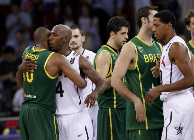 Brasil e EUA se enfrentaram no último Mundial de basquete | Reuters
