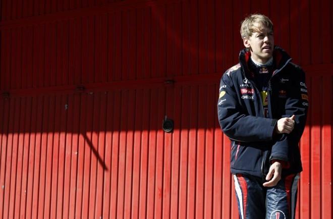 Sebastian Vettel, atual bicampeão: para Bernie Ecclestone, alternância nos títulos seria benéfica à F1 | Albert Gea / Reuters