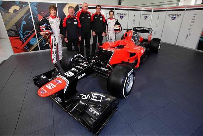 Novo carro da Marussia será pilotado por Timo Glock e Charles Pic | Divulgação / Marussia F1 Team