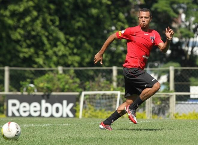 Luis Fabiano deve voltar ao time de São Paulo contra o Independente-PA, na Copa do Brasil   Luiz Pires / Vipcomm