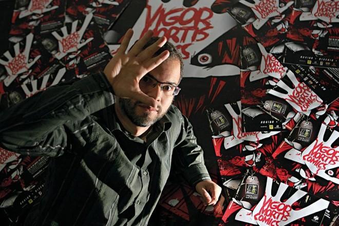 José Aguiar escolheu os autores para Cena HQ de olho em múltiplos estilos, personagens e temas   Priscila Forne/Gazeta do Povo