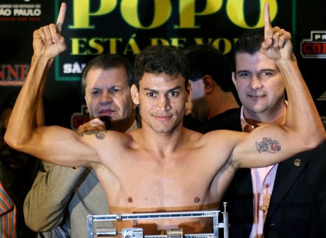 Popó tem luta marcada para junho, no Uruguai | Maurício Lima/ AFP