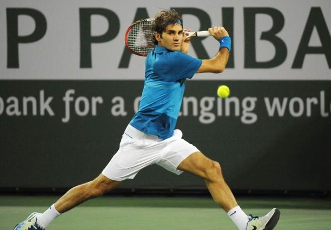 Roger Federer vai enfrentar Thomaz Bellucci no Masters 1000 de Indian Wells | AFP
