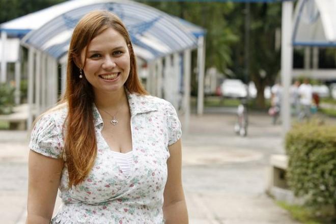 Ellen Sottoriva confiou em seu projeto e ganhou menção honrosa em concurso nacional de Engenharia   Antônio More / Gazeta do Povo