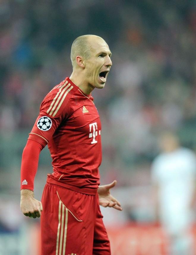 O holandês Robben brilhou na goleada do Bayern de Munique | Marc Mueller/ EFE
