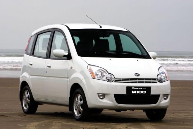 O Effa M100 foi quem mais perdeu mercado entre os chineses em relação ao ano passado |