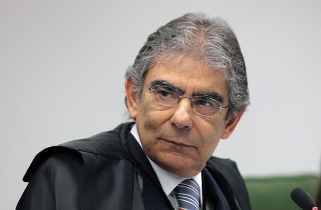 Ayres Britto, que foi eleito presidente do STF nesta quarta-feira (14) | Nelson Jr./STF