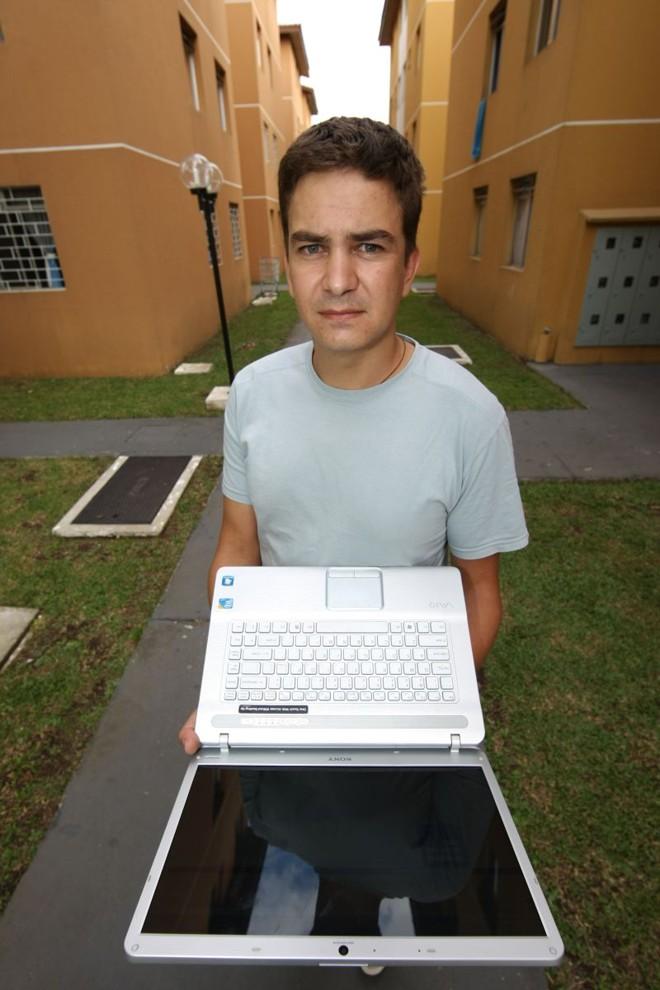 Thiago Iatskiu, do condomínio Ilha das Peças: autogestão com uma mãozinha da tecnologia | Ivonaldo Alexandre/ Gazeta do Povo