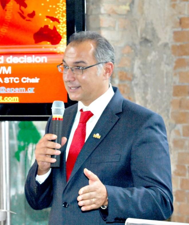 Antonis Mavropoulos diz que gestão de resíduos passa pela recuperação de materiais e de energia | Divulgação