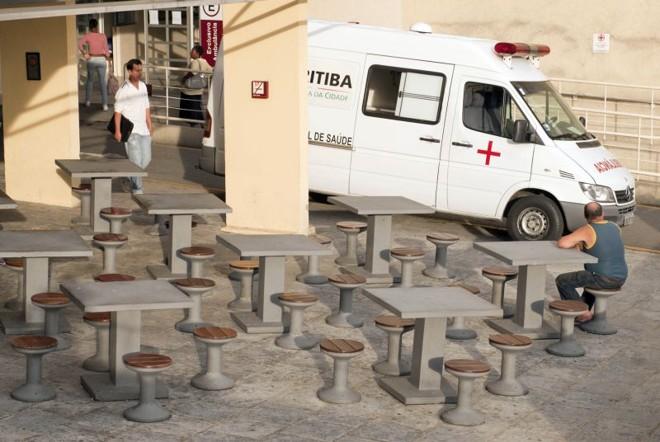 O movimento no Hospital de Clínicas de Curitiba caiu drasticamente com a paralisação: atendimento só em casos de emergência | Marcelo Andrade/Gazeta do Povo