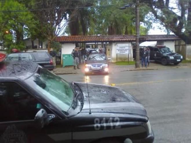 Gaeco e Polícia Militar realizam operação contra o tráfico de drogas em Curitiba e região | Aniele Nascimento / Agência de Notícias Gazeta do Povo