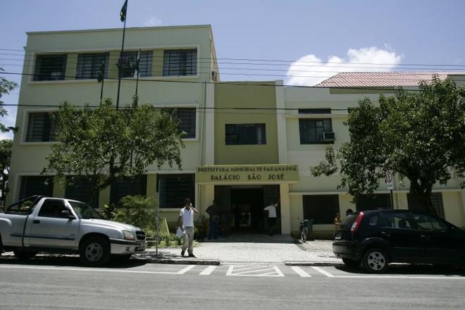 Prefeitura de Paranaguá: por enquanto, silêncio sobre denúncias   Antônio More/ Gazeta do Povo