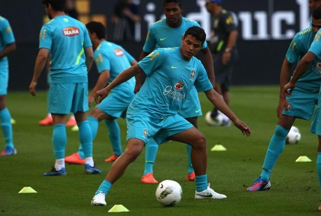 Thiago Silva espera ter condições de enfrentar a Argentina no próximo sábado | Mowa Press