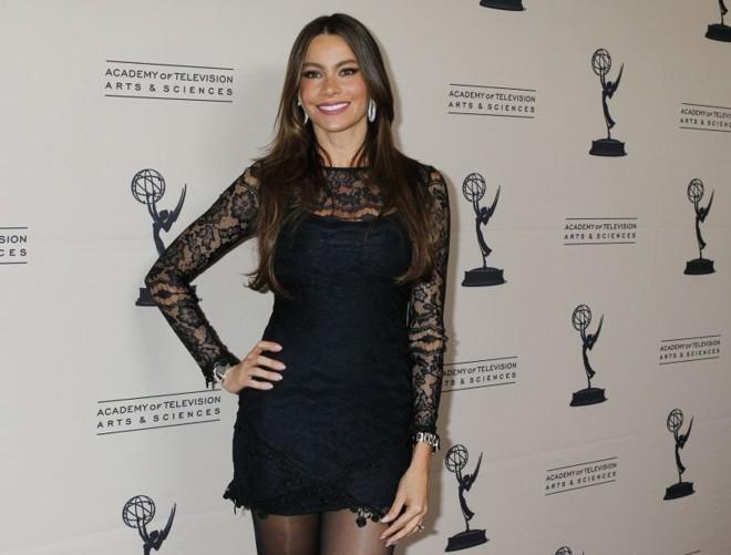 Atriz colombiana Sofia Vergara, estrela da série cômica Modern Family | REUTERS/Fred Prouser