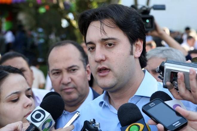 Ratinho Júnior (PSC). | Antônio More/ Gazeta do Povo