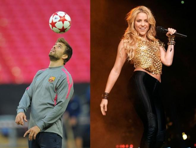 Shakira e Piqué serão pais de um menino que nascerá no final de janeiro de 2013 | AFP