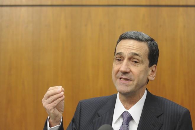 A posse de Francisco Falcão, ministro do ministro do Superior Tribunal de Justiça (STJ), ocorreu nesta quinta-feira | Wilson Dias/ABr