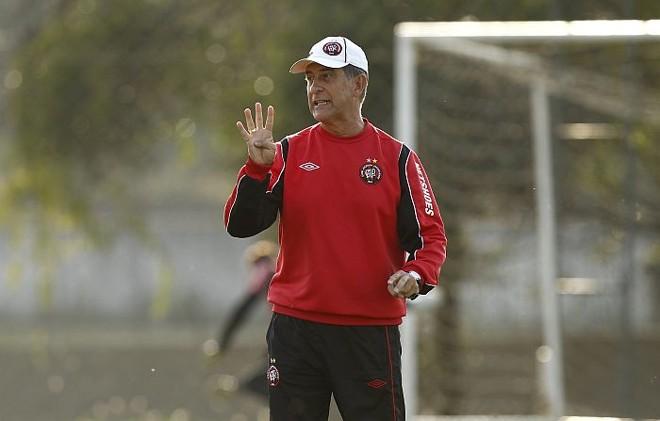 Drubscky espera que Atlético entre ligado desde o começo contra o Barueri, sexta-feira | Hugo Harada / Gazeta do Povo