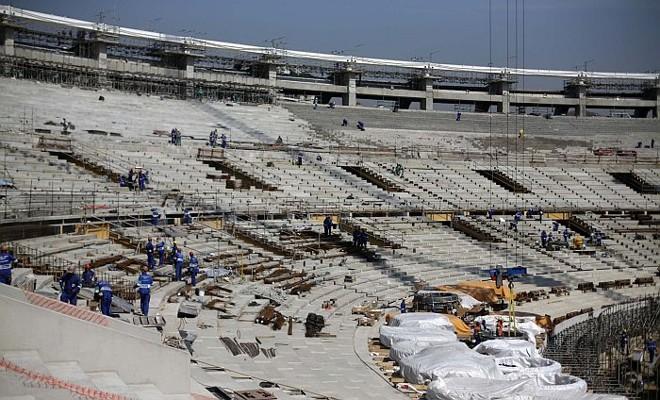 Ritmo das obras no Maracanã estão avançados | Reuters