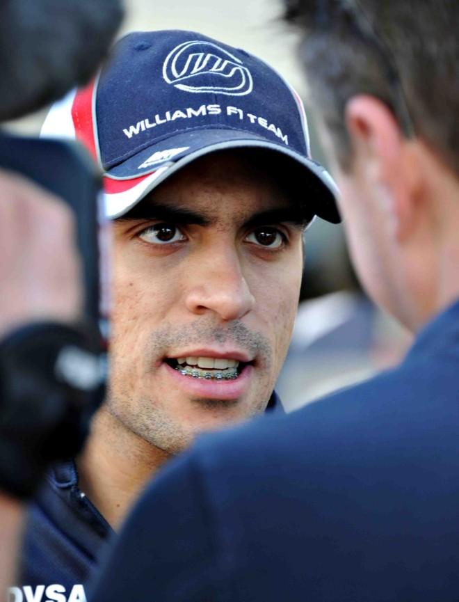 Pastor Maldonado não gostou das provocações de Barrichello | Toshifumi Kitamura/ AFP