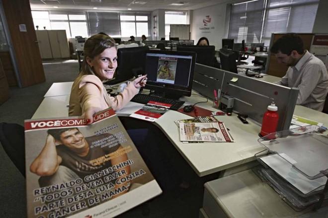 Fernanda Leal, gerente de Marketing: algumas vezes ocorrem falhas de comunicação   Felipe Rosa/Gazeta do Povo