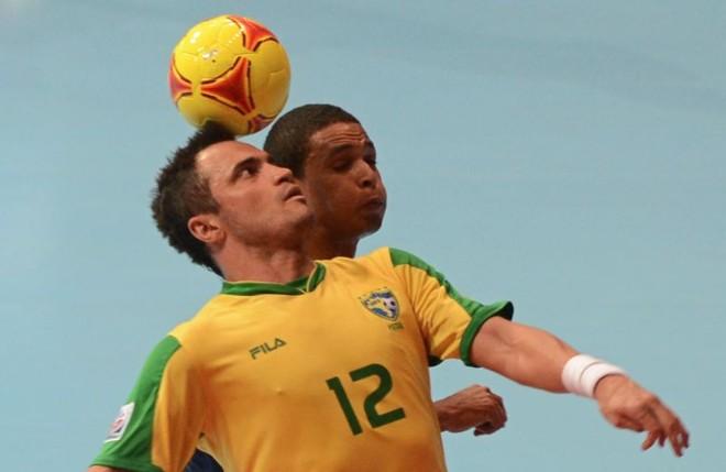 Falcão é a estrela brasileira na decisão do Mundial de Futsal | AFP