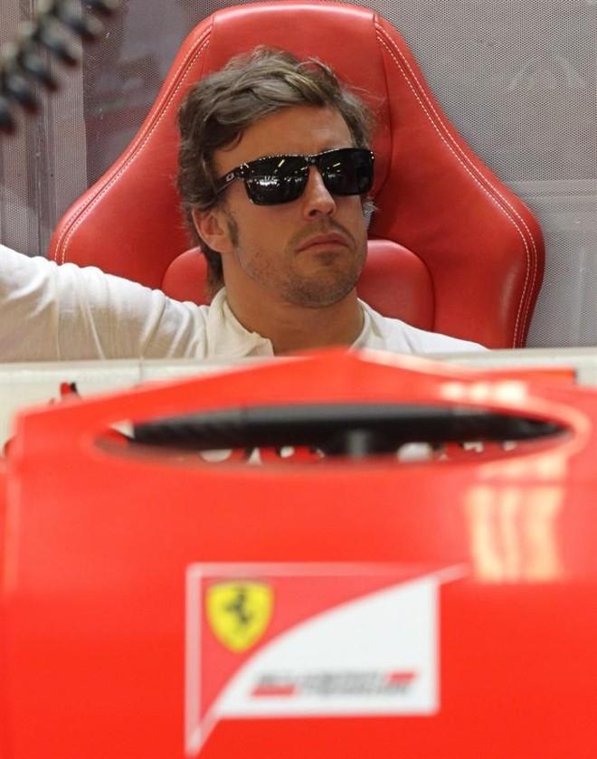 Alonso admite que o trabalho das outras equipes foi melhor do que o da Ferrari nos treinos do GP de Abu Dhabi | EFE
