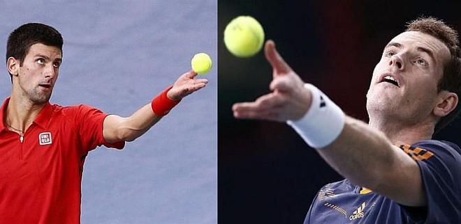Djokovic e Murray se encontram longo na primeira fase do ATP Finals | EFE