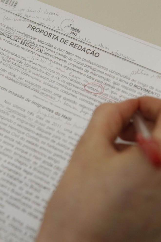 Correção é feita com base na Teoria da Resposta ao Item | Marcelo Elias/ Gazeta do Povo